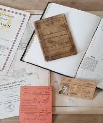 Visite du service intercommunal d'archives de la Communauté de Communes Nièvre & Somme